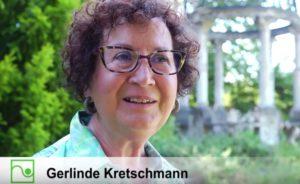 Gerlinde Kretschmann spricht im Video über die Bedeutung von Gärten und öffentlichem Grün. Foto: Screenshot YouTube