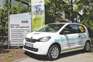 Das Energiespar-Mobil macht auf seiner Energieeffizienz- und TASPO Awards-Tour unter anderem Halt bei der TASPO. Foto: RAM Group