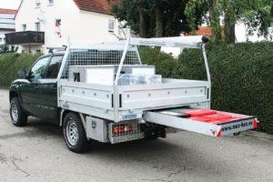 Die Max-Box gibt es für nahezu alle Fahrzeuge und Anwendungsfälle in Unterbau- oderHeckauszugversion. Werkfoto
