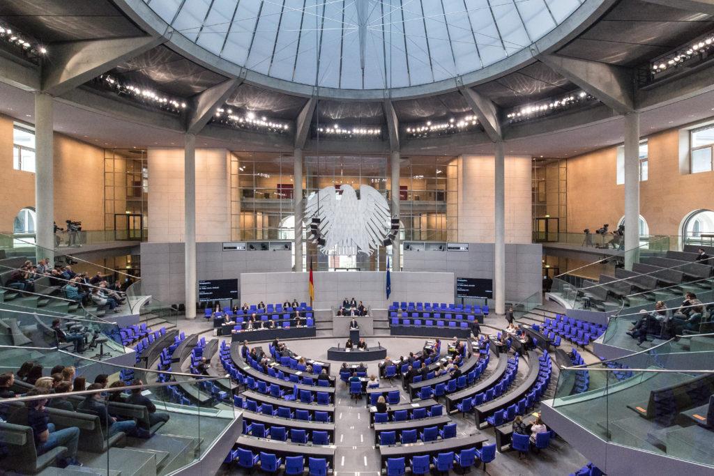 Der deutsche Bundestag debattierte über die zukünftige politische Ausrichtung des Gartenbaus. Fotos: Marc Vorwerk