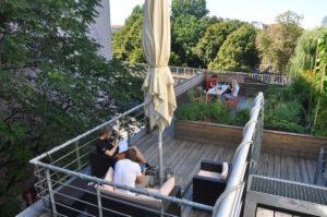 Die different GmbH hat den besten Dachgarten. Foto: different