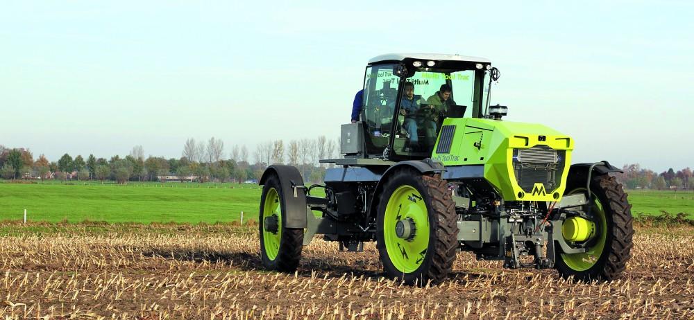Der Multi Trac ist laut Hersteller der erste elektrische Traktor. Werkfoto