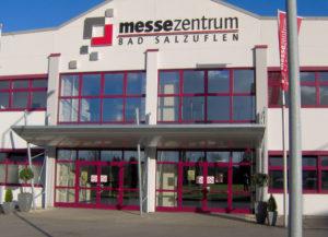 Die Fachmesse RegioGrün von MesseHAL findet im Messezentrum Bad Salzuflen statt. Foto: Messezentrum Bad Salzuflen
