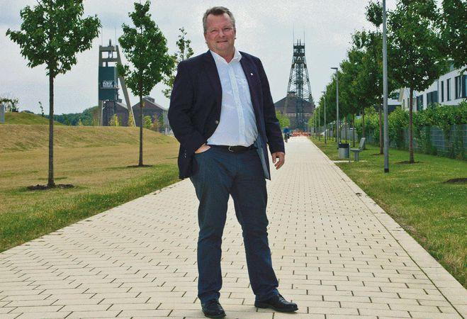 Schon seit vielen Jahren ein engagierter Unternehmer: Petter Knappmann. Foto: privat